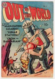 Out of This World #1 (Avon, 1950) Condition: VG.... Golden Age | Lot #14417 | Heritage Auctions