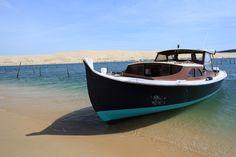 Pinasse, bateaux typique du Bassin d'Arcachon. Pinasse, typical boat of Arcachon Bay Crédit Photo: SIBA