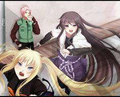 Lol! Sasuke girl, Naruto girl and Sakura as a boy