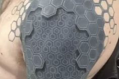 This Guy is Practically a Cyborg With His 3D Tattoo