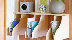 Σπίτι και κήπος διακόσμηση: DIY Ιδέες με κουτιά αποθήκευσης περιοδικών