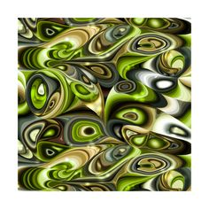 Natural Mix - Green Apple  instagram.com/tseihadesign  #surfacedesign #surfacepattern #seamlesspattern #design #art #illustration #illustration art #painting #paintmixing