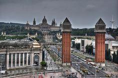 Torres Venecianas y Palacio Nacional