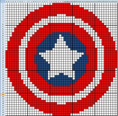 Tapestry Crochet - superhero patterns. (scroll down on website for a how to on Tapestry Crochet)