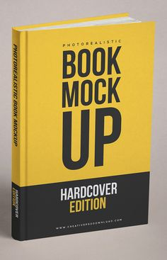 Free Realistic Book Cover Free PSD Mockup #freemockuptemplates #freepsdfiles #freepsdmockups #freebies #presentationmockups #productmockup #realisticmockup