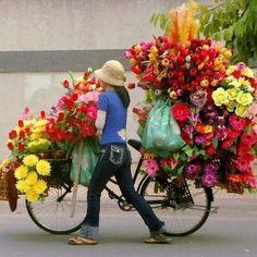 travelling florist ~ love it