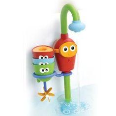 juguete para el baño y agua grifo y vasitos divertidos