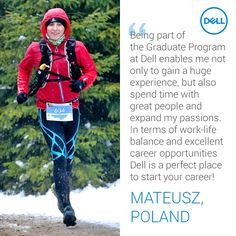 Landing your first job with Dell. Graduate Program, Warsaw Poland, First Job, Career Opportunities, Work Life Balance, What Is Life About, Graduation, Students, University