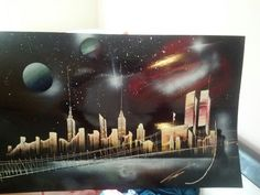 NYC Spray paint Art.