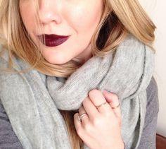 The ultimate dark lip - Nars Audacious Lipstick in Liv