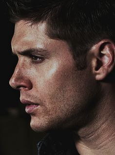 "REMINDER!: I haven't done this in a while, but here's another reminder that this SPN board is closed and that any new pins are going to my newest board, ""Supernatural III"". Either way: here is my favorite picture of Dean Winchester/Jensen Ackles right now because it's perfect."