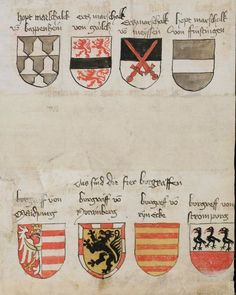 Wappenbuch des St. Galler Abtes Ulrich Rösch Heidelberg · 15. Jahrhundert Cod. Sang. 1084  Folio 28