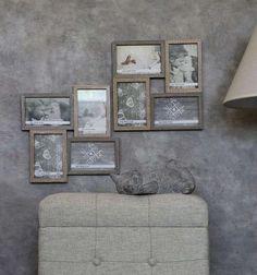 Μοντέρνα κορνίζα που θα σας προσφέρει τη δυνατότητα να εκθέσετε τέσσερεις φωτογραφίες με διαστάσεις 10x15 cm η καθεμία. Η Κορνίζα SOF102 διαθέτει ξύλινο πλαίσιο με όμορφο χρώμα και προσεγμένη κατασκευή. Gallery Wall, Frame, Home Decor, Picture Frame, Decoration Home, Room Decor, Frames, Home Interior Design, Home Decoration