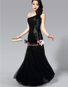 Wholesale Vestidos De Fiesta New 2017 Champagne One-shoulder Prom Dress Beaded Long Evening Party Gown