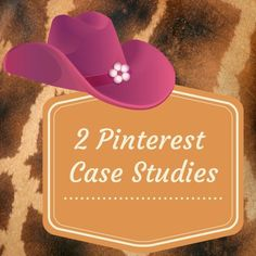 2 #Pinterestmarketing case studies - how to grow your email list using Pinterest.