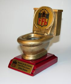 fantasy football trophies | Seaon in the Crapper!