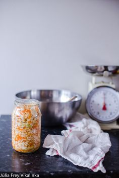 Delicious and gut healthy sauerkraut recipe that's been in my family for generations.