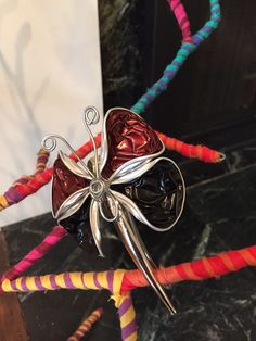 Butterfly Nespresso capsules and wire
