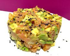 Dulce Muffin: Tartar de salmón ahumado