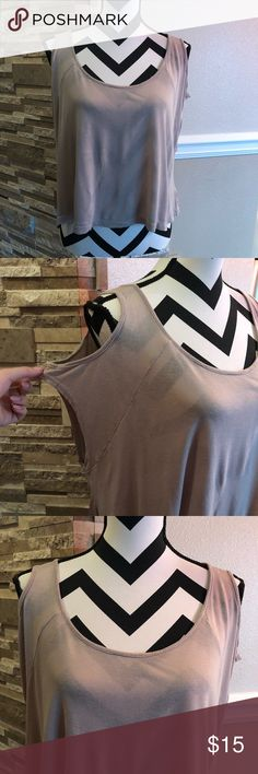 Forever 21 Nude Top Good condition (bin B) Forever 21 Tops