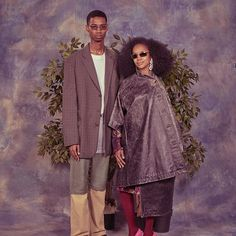 Keiron (@kcaynes) and his mother Wanda for Balenciaga's Spring/Summer 2018 campaign. Photography by Robbie Augspurger and styling by Lotta Volkova. Hair by Gary Gill and make-up by Inge Grognard. #TomorrowIsAnotherDay #TIAD #KeironCaynes #Balenciaga #DemnaGvasalia #RobbieAugspurger #LottaVolkova #GaryGill #IngeGrognard