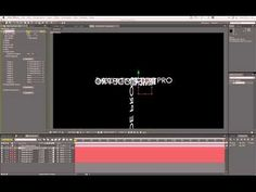 After Effects Typography Tutorial - Sure Target HD - YouTube