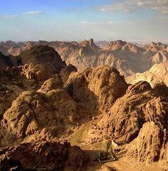 Landscape from Mt. Sinai, Egypt
