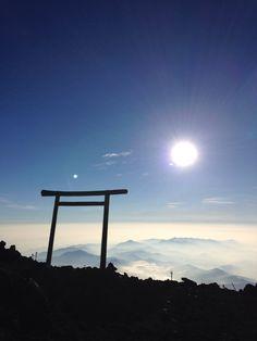 Mt.Fuji summit.