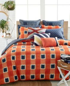 CLOSEOUT! Tommy Hilfiger St. Andrews Comforter and Duvet Cover Sets