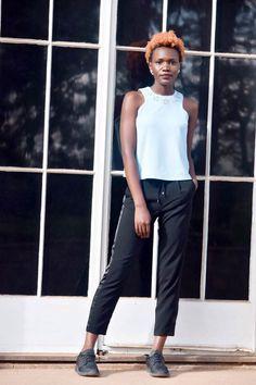 Liz Madowo, lizmadowo.co.ke, Joggers and Lace Up Heels, Fashion Blogger, Style blogger, Kenyan Fashion Blogger