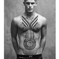 Here are some best Chest Tattoos Ideas for Men. See these tattoos designs and select what you like. There are many best ideas with different bodies and with different sizes of tattoos. Cool Chest Tattoos, Back Tattoos, Hot Tattoos, Body Art Tattoos, Sleeve Tattoos, Tribal Tattoos For Men, Tattoos For Guys, Off The Map Tattoo, Brust Tattoo