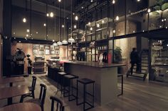 La Marzocco flagship store by PLAN, Taipei store design