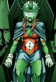 Miss Martian or Wonder Woman? Young Justice Characters, Dc Comics Characters, Superboy And Miss Martian, The Martian, Gi Joe, Detective, New Avengers, Dc Heroes, Power Girl