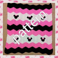 Minnie Mickey Mouse Crochet Pattern. Minnie Mouse by MandyMiranda
