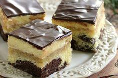 Jablkovy kremes Czech Recipes, Ethnic Recipes, No Bake Cake, Nutella, Sweet Recipes, Tiramisu, Cheesecake, Deserts, Dessert Recipes