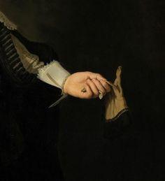 Rembrandt van Rijn (1606-1669), Portrait de/of Maerten Soolmans (détail/detail) © RMN-Grand Palais / Mathieu Rabeau