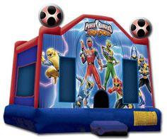 Power+Ranger+Mini+Birthday+Party | Power Rangers Jumper
