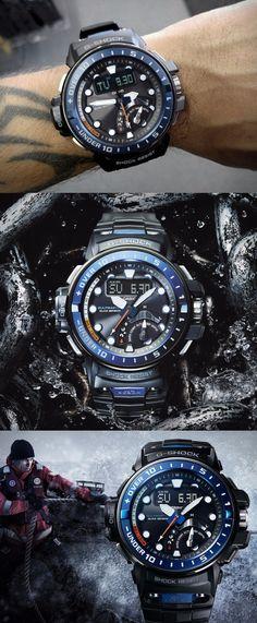 Casio G-Shock GWN-Q1000-1AJF Gulfmaster Tough Solar Movement Multiband 6 Mens Watch