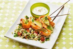 Lohivartaat ja tomaatti-couscous on ihastuttava ateria, kun haluat jotain hyvää.  http://www.valio.fi/reseptit/lohivartaat-ja-tomaatti-couscous/ #resepti #ruoka