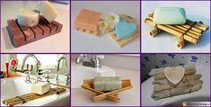 Una selezione di 20 idee creative per la realizzazione di portasapone fai da te semplici ed originali in legno, vetro, ed altri materiali con tutorial