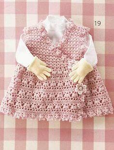 Baby Wrap Vest free crochet pattern