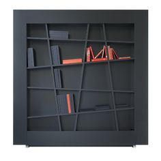 Lines bookshelf by Peter Maly