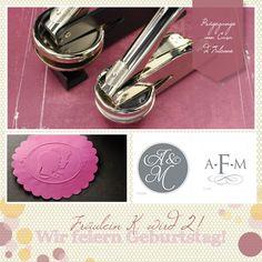 Frl. K. feiert Geburtstag: Prägezange von Casa di Falcone | Hochzeitsblog Fräulein K. Sagt Ja