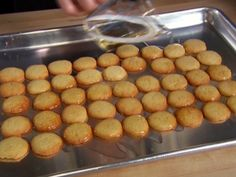 Vanilla Wafers Recipe : Alton Brown : Food Network - FoodNetwork.com Store bought wafers no longer have real vanilla, but some sort of wood pulp or something