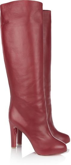 5fa564826ed Chloé Patchwork snake knee boots ( 910) ❤ liked on Polyvore ...