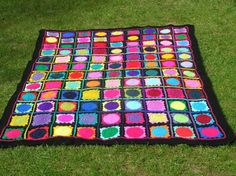 Fabulous multi coloured picnic blanket  or by thespannerworks, $300.00