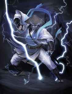Lord Raiden aka Raijin by molee