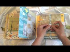Фотоальбом детский с секретиками более, чем на 100 фото - YouTube