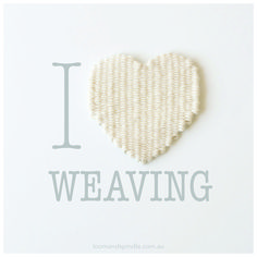 How to Weave a Heart: A Method for Shaped Weaving — Loom & Spindle Weaving Yarn, Tapestry Weaving, Cricket Loom, Modern Tapestries, Knit Crochet, Crochet Hats, Weaving Projects, Weaving Techniques, Woven Rug