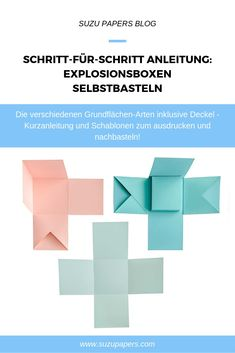 The Ultimate Step-by-Step Guide to Your First Explosion Box - Part 1 - explosionsbox - Crafts To Sell, Easy Crafts, Diy And Crafts, Crafts For Kids, Paper Crafts, Explosion Box, Diy Guide, Step Guide, Ideas Scrapbook